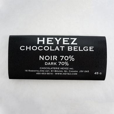 Dark Belgian chocolate bar 70%